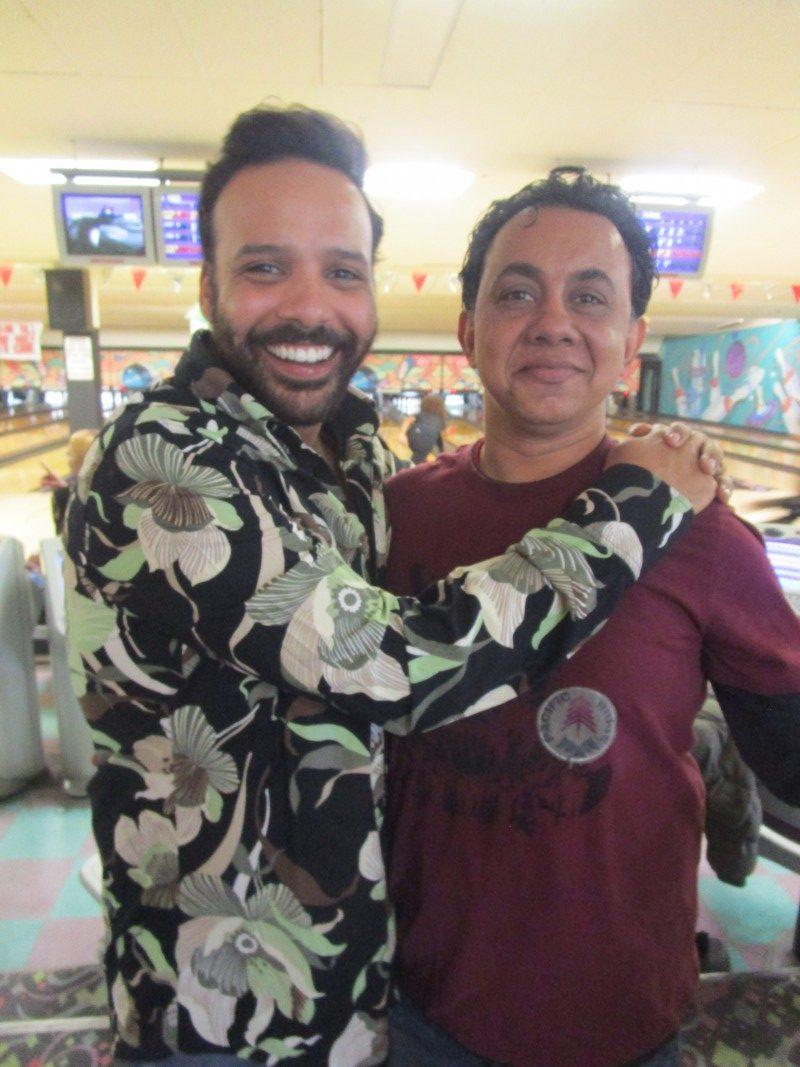 Pedro and Raj
