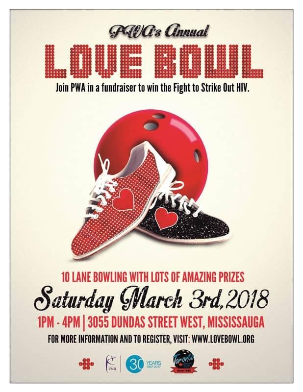 2018 Love Bowl poster