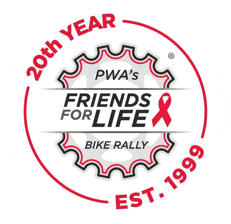Bike Rally 20th logo